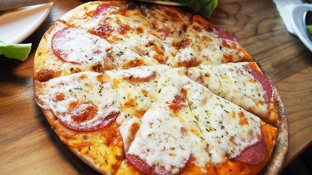 Pourquoi la Pizza est Ronde